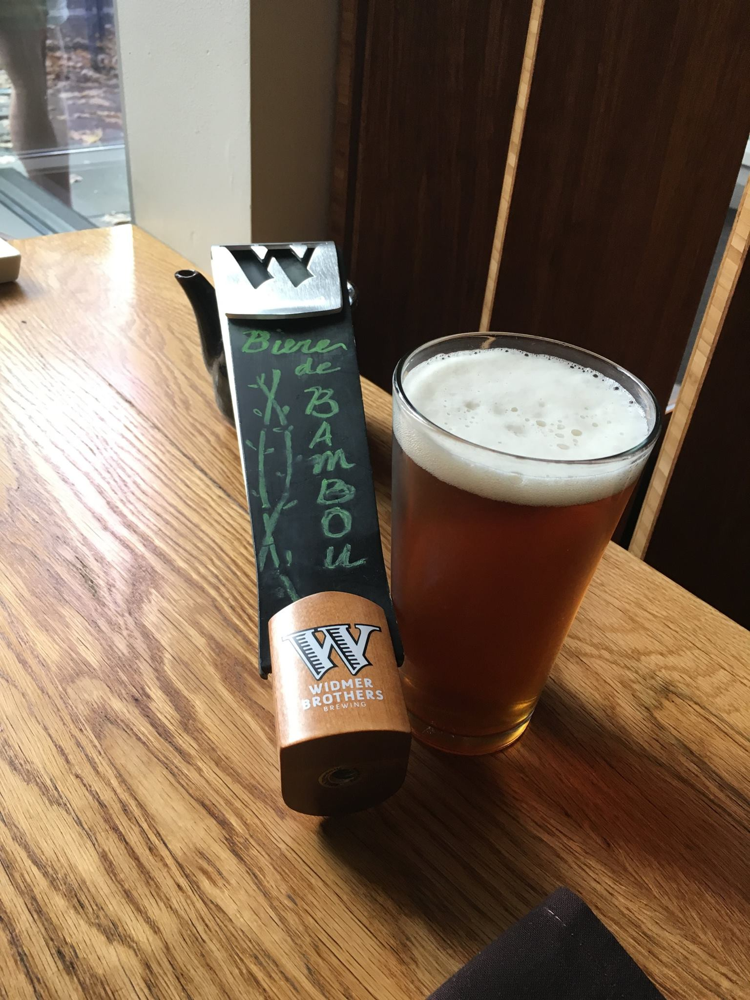 Widmer Brothers Brewing and Bamboo Sushi Biere de Bambou (photo courtesy of Widmer Brothers Brewing)