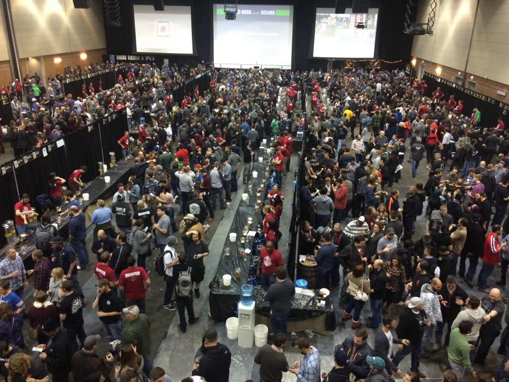 2015 FoBAB crowd from above