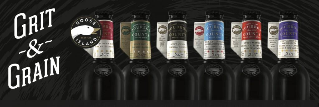 2015 Goose Island Bourbon County Brand Stout Varieties