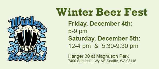 2015 washington winter beer fest returns december 4 5. Black Bedroom Furniture Sets. Home Design Ideas