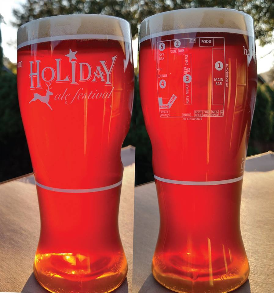 20th Annual Holiday Ale Festival Drinkware (photo courtesy of HAF)