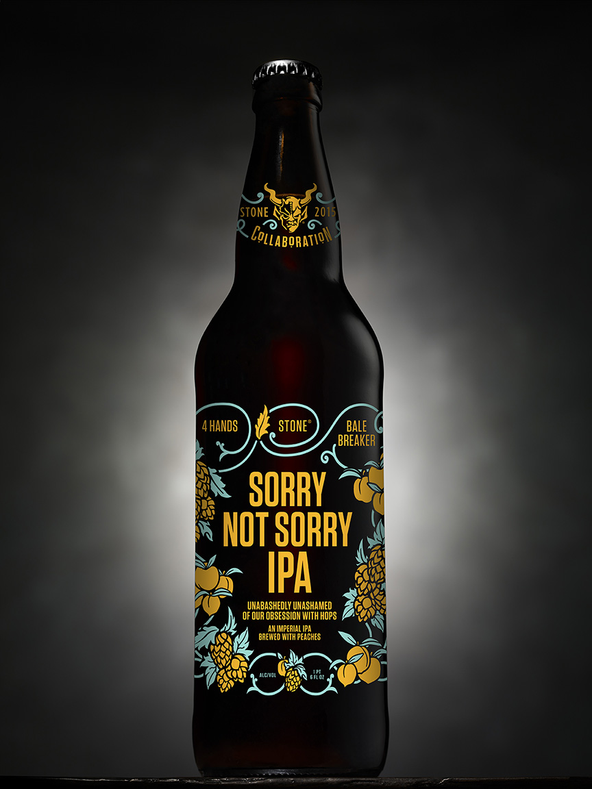4 Hands : Bale Breaker : Stone Sorry Not Sorry IPA