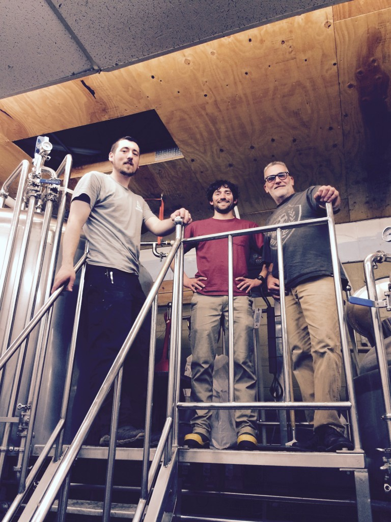 Backwoods Brewing Team (photo courtesy of Backwoods Brewing)
