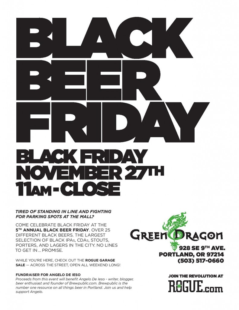 Black Beer Friday Poster 2015