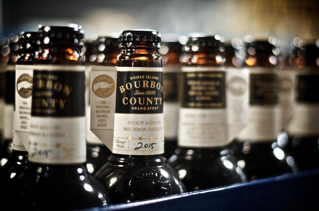 Bourbon County Brand Stout (photo courtesy of Goose Island Beer Co.)