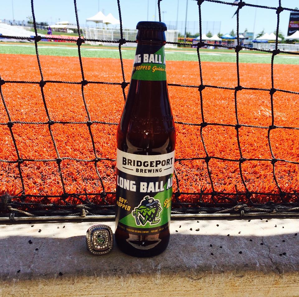 BridgePort Long Ball Ale (photo courtesy of BridgePort Brewing)