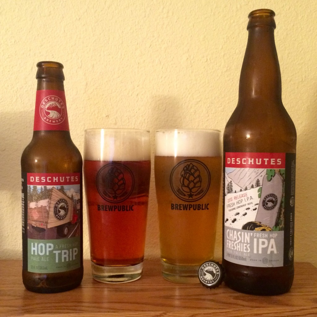 Deschutes Brewery Releases Hop Trip and Chasin' Freshies