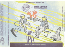 Ecliptic Brewing and Fort George Brewery JH² IPA