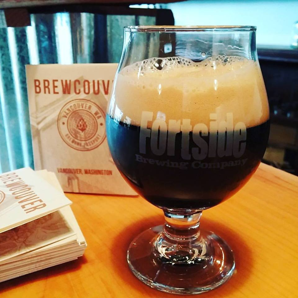 Fortside Brewing's Belgian Dark Strong (photo courtesy of ZZoom Media)