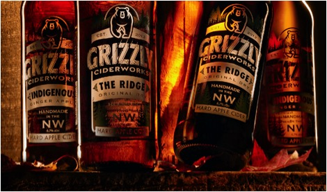 Grizzly Ciderworks Bottles