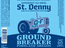 Ground Breaker Brewing St. Denny Dubbel Style Ale
