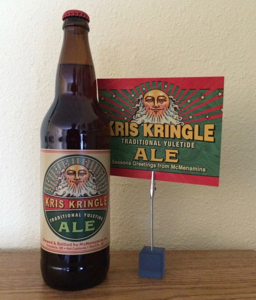 McMenamins Kris Kringle Traditional Yuletide Ale