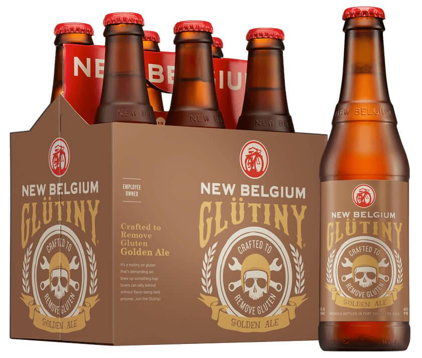New Belgium Glutiny Golden Ale Gluten-reduced