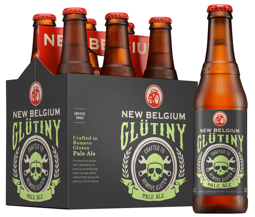 New Belgium Glutiny Pale Ale Gluten-reduced