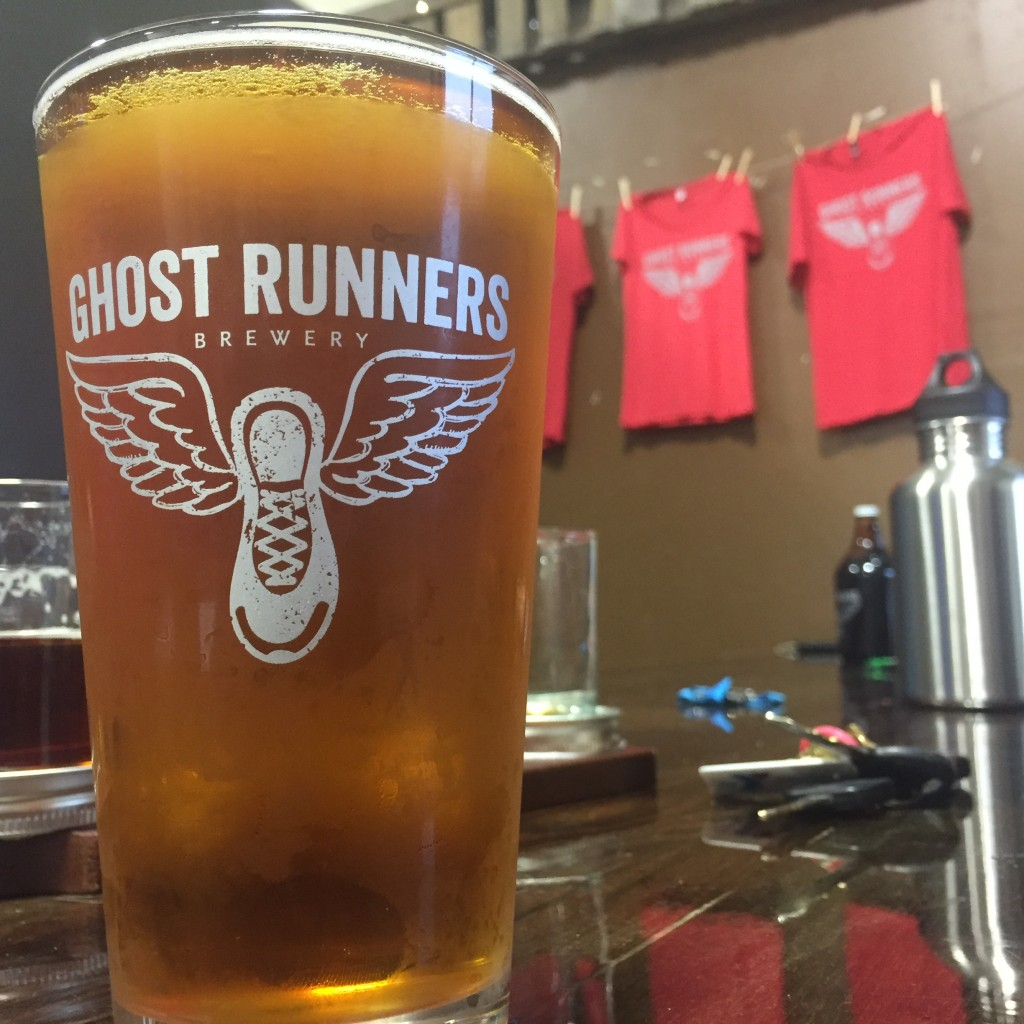 Performance Pale - A Rye Pale Ale by Ghost Runners Brewery (photo courtesy of ZZoom Media)