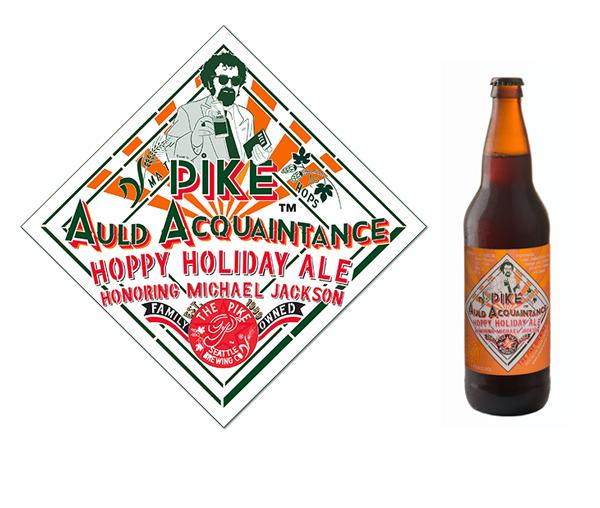 Pike Brewing Pike Auld Acquaintance Honoring Michael Jackson