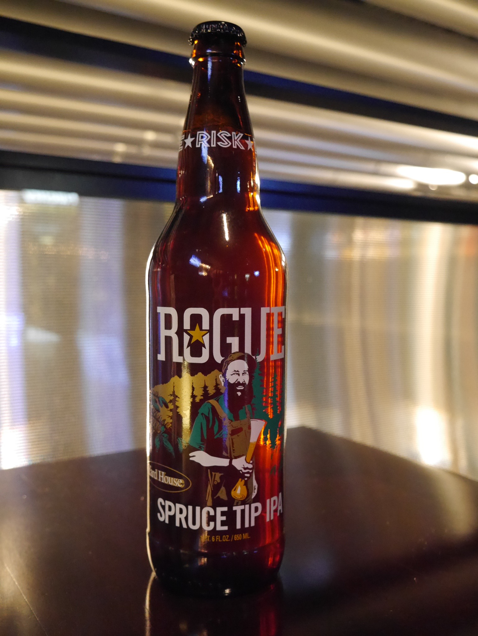 Rogue Spruce Tip IPA brewed in conjuction with Yard House (photo by Cat Stelzer)
