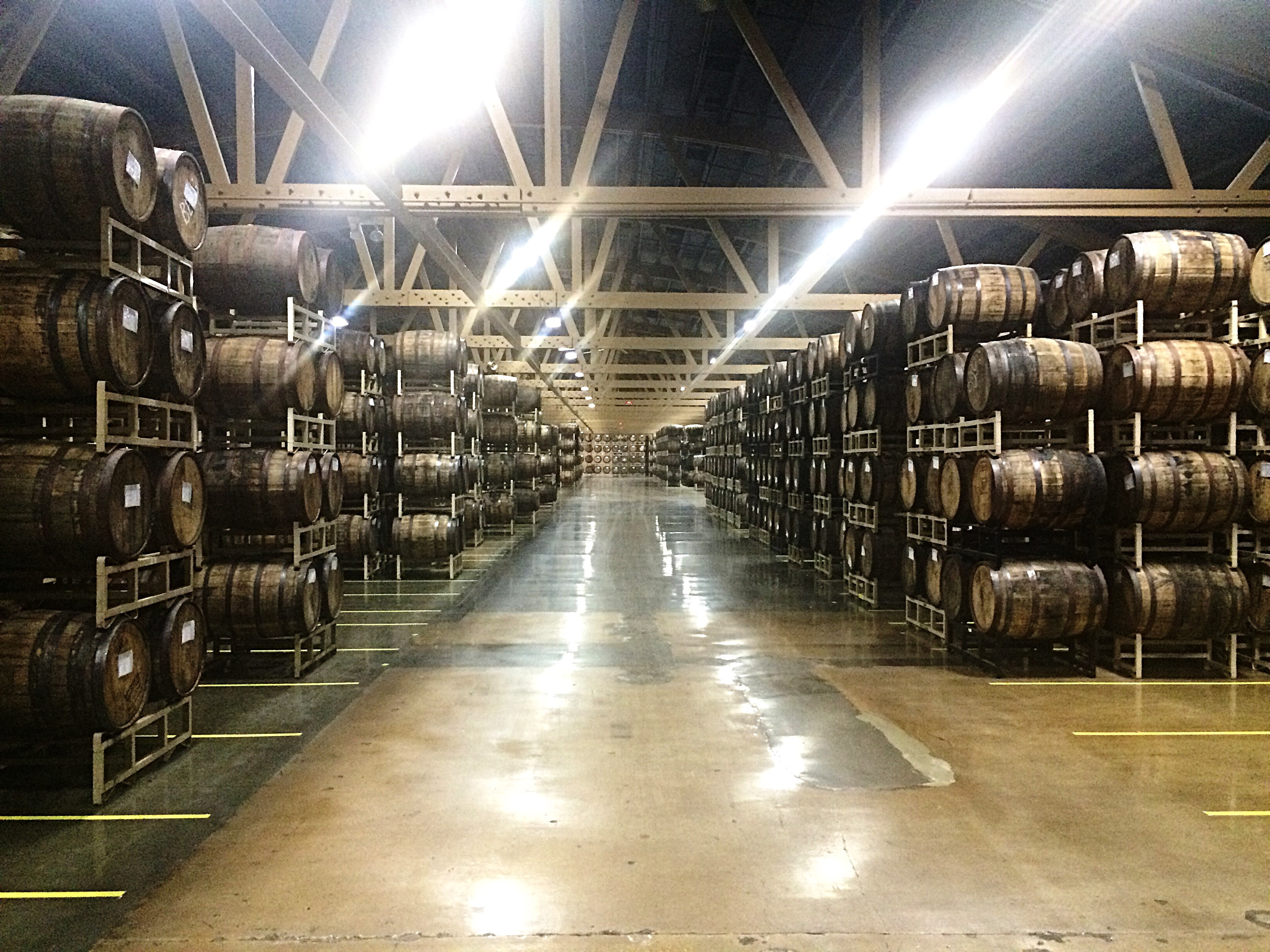 storage oak wine barrels. A Visit To The Goose Island Barrel Warehouse As It Releases Its Bourbon County Brand Stout Today Storage Oak Wine Barrels