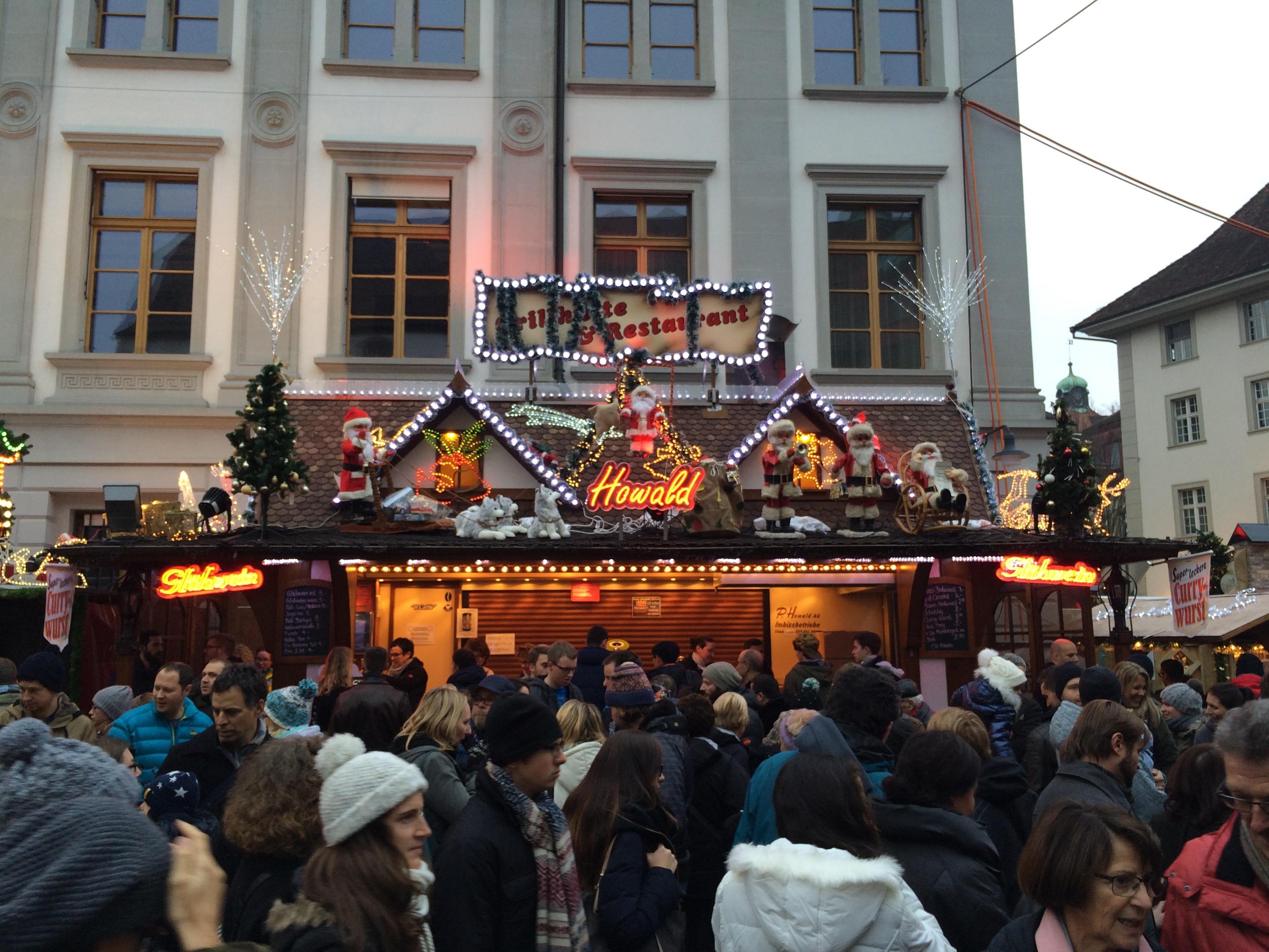 Christmas Market in Lucerne, Switzerland