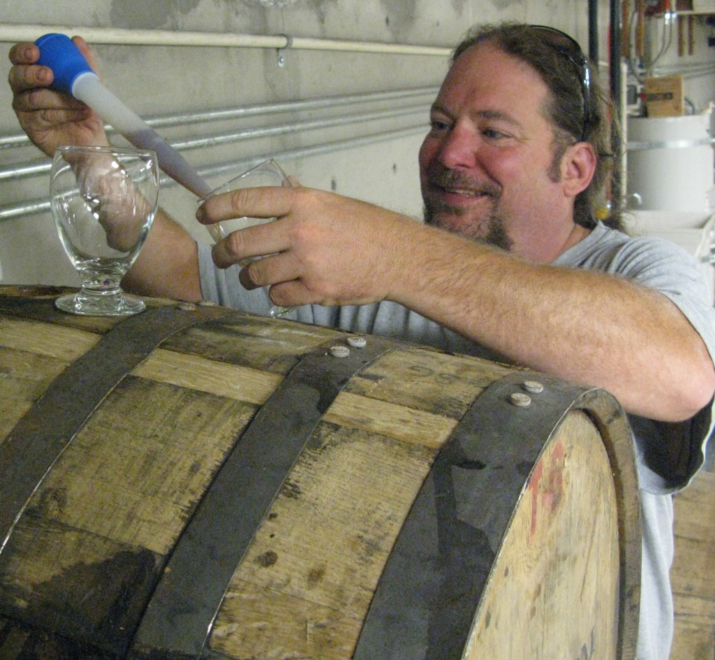 Owner/brewer Kevin King is bringing out some of Amnesia's barrel aged beers for Winter Warmer Night, which starts at 2 p.m. Saturday Dec.19 at Amnesia Brewing on Main Street in downtown Washougal, Wash. Among other treats, they'll be pouring Barrel Aged Frosty' s Revenge, Mon Cheri Chocolate Stout, Snowbird Sunshine Sour and Sleighjerker. FoystonFoto