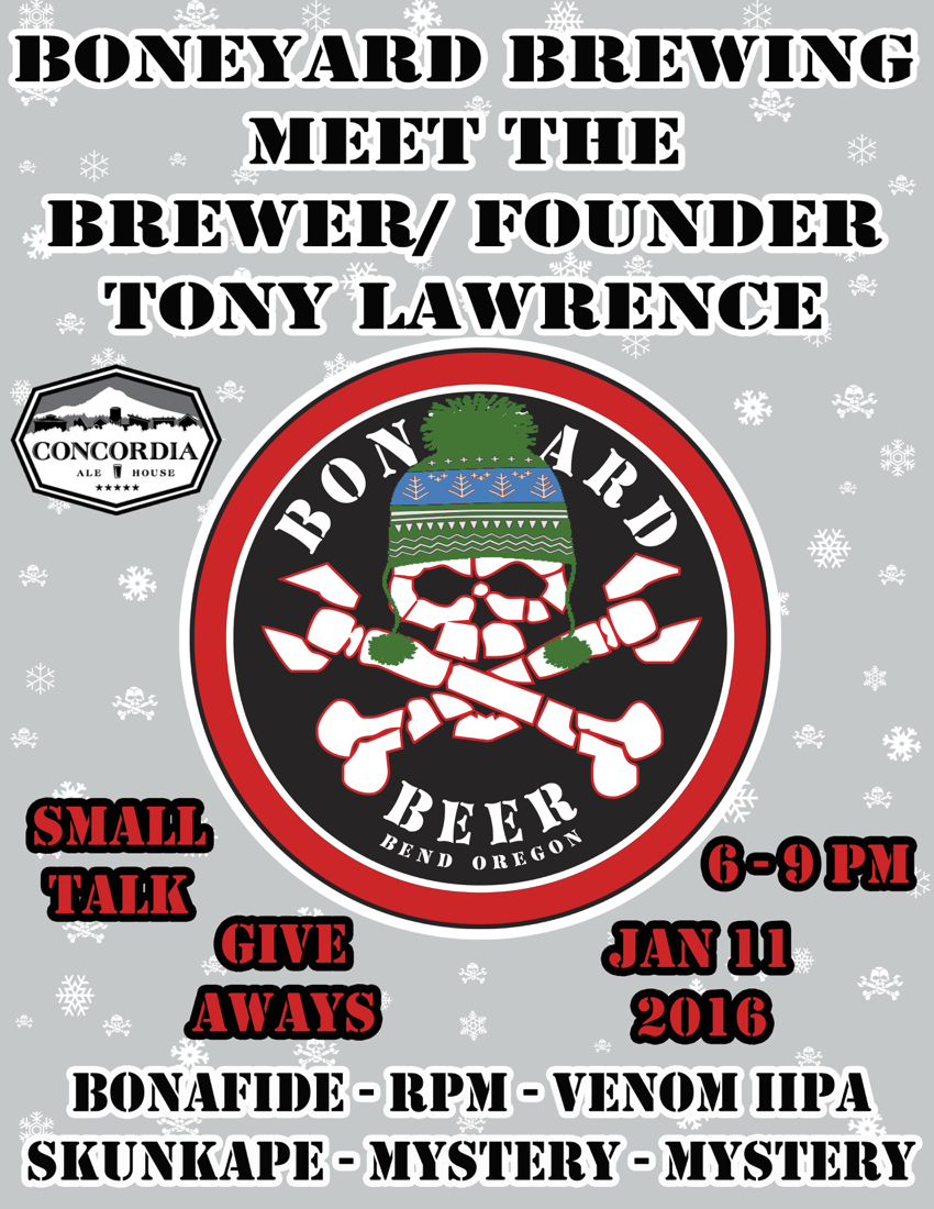 Meet Tony Lawrence of Boneyard Beer