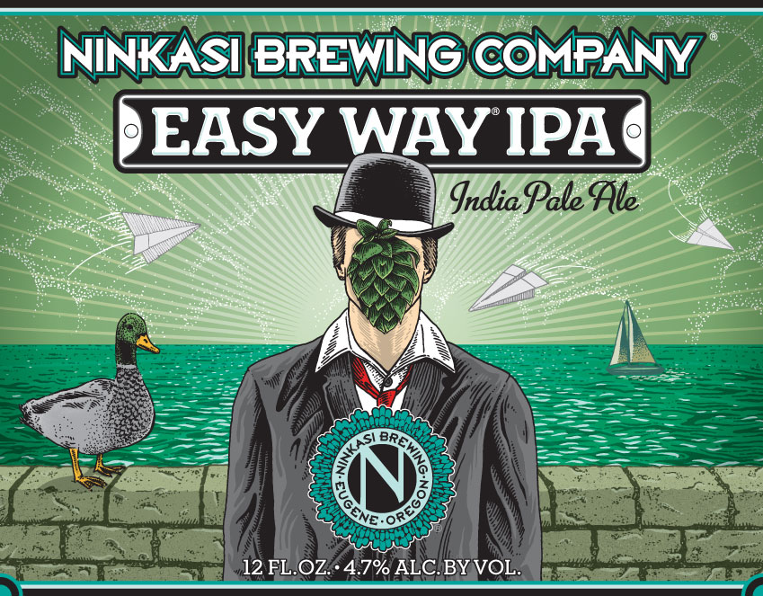 Ninkasi Label Easy Way IPA