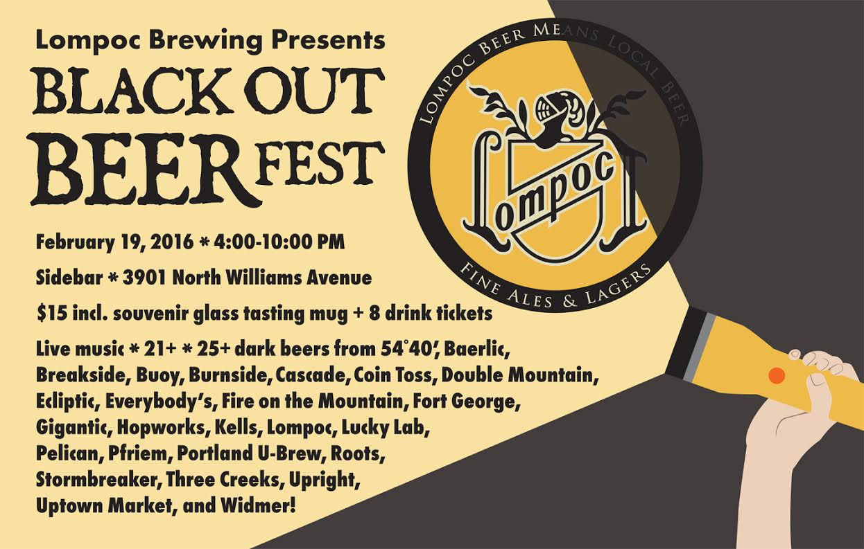 2016 Lompoc Black Out Beer Fest