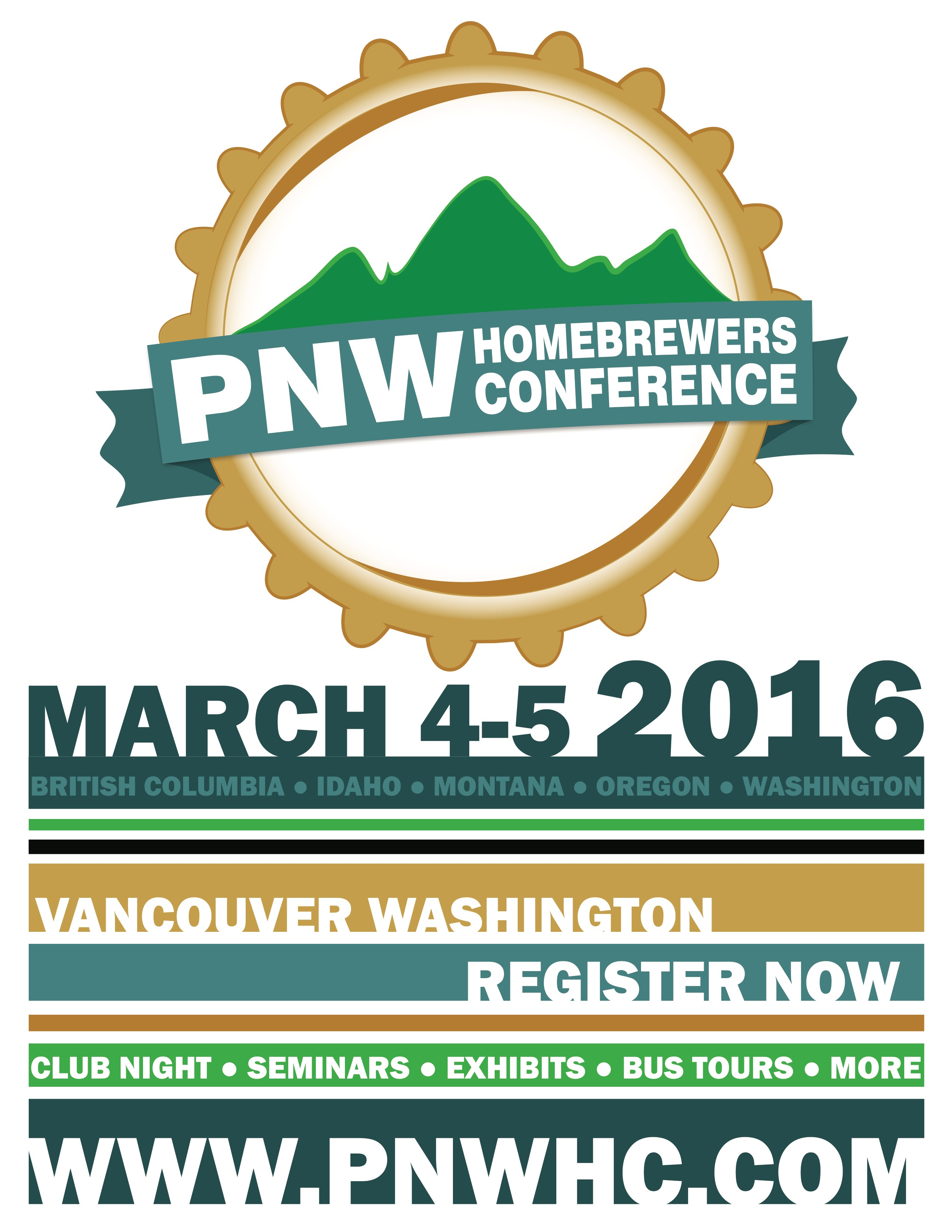 2016 Pacific Northwest Homebrewers Conference Poster