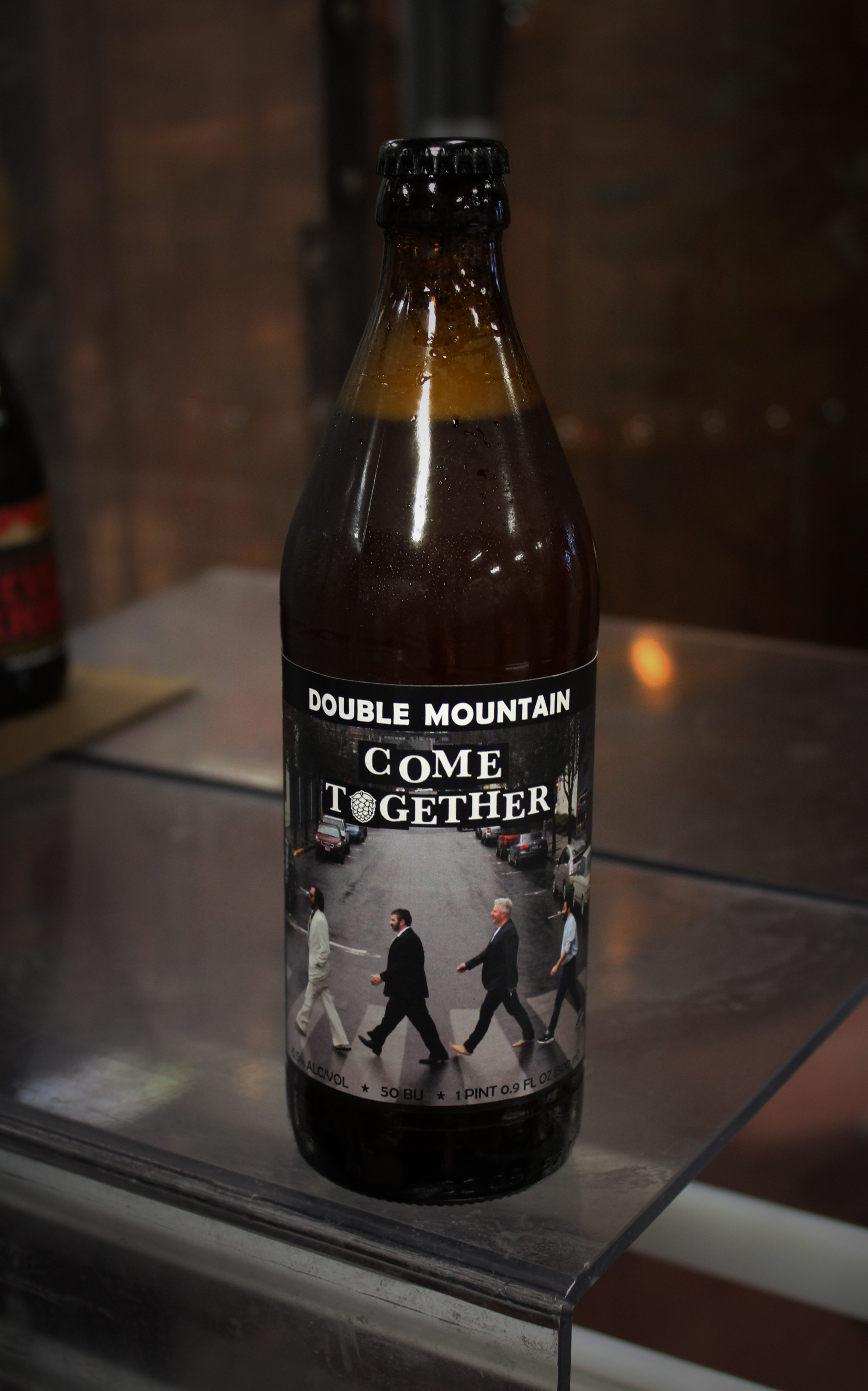 Double Mountain & The Country Cat Come Together Bottle