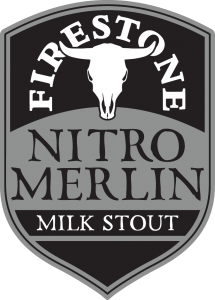 Firestone Walker Nitro Merlin Milk Stout Shield