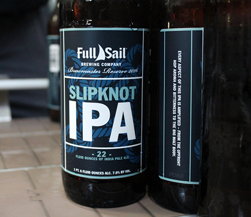 Full Sail Brewing Slipknot IPA Bottling Line