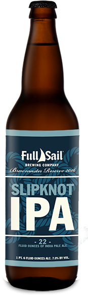FullSail Slipknot IPA Bottle