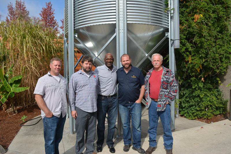Gilgamesh Brewing and Terry Porter (image courtesy of Gilgamesh Brewing)