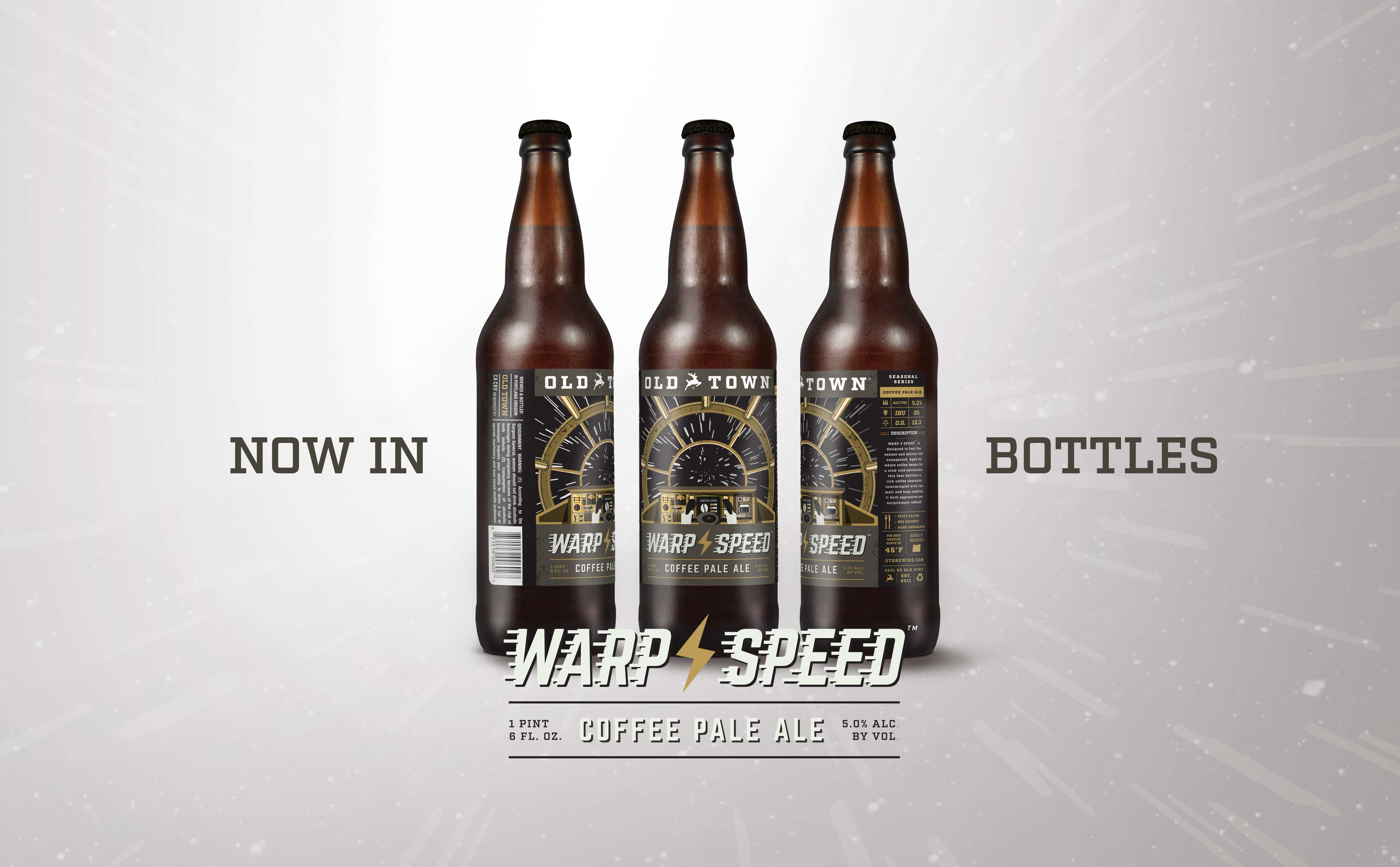 Old Town Brewing Warp Speed Coffee Pale Ale