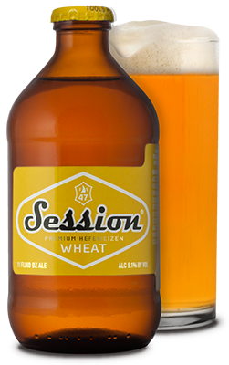 Stubby Bottle of Full Sail Session Wheat