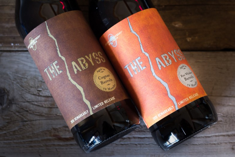 The Abyss Rye & The Abyss Cognac (image courtesy of Deschutes Brewery)