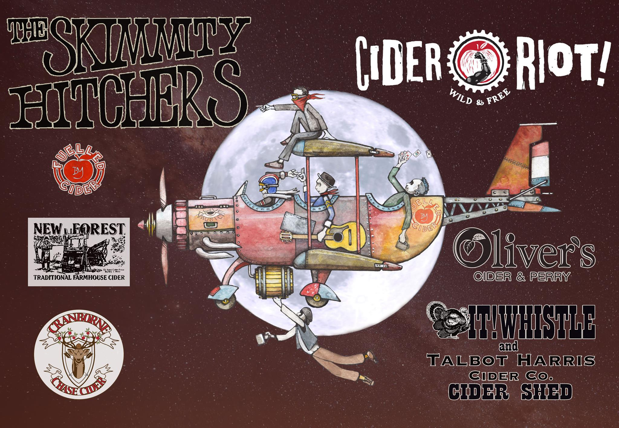 The Skimmity Hitchers Live at Cider Riot!