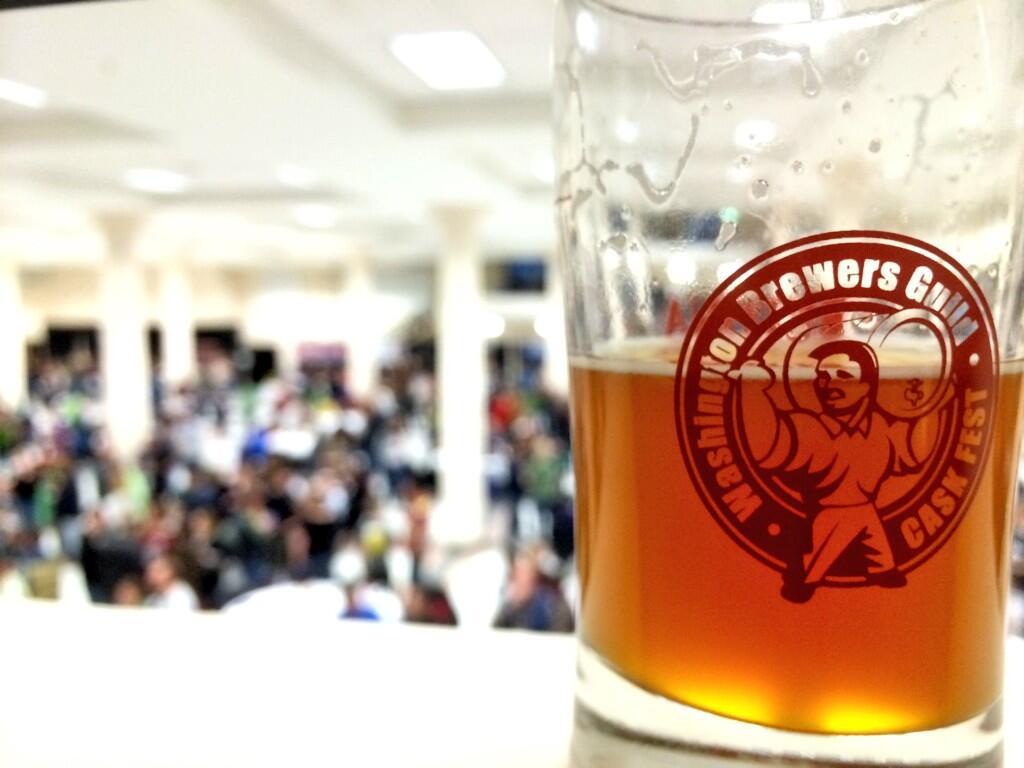 Washington Brewers Guild Cask Fest. (photo by Cat Stelzer)