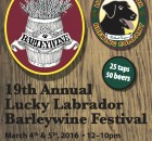 2016 Lucky Labrador Barleywine Festival