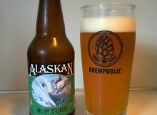 Alaskan Brewing Co. Hop Turn IPA in a Brewpublic glass