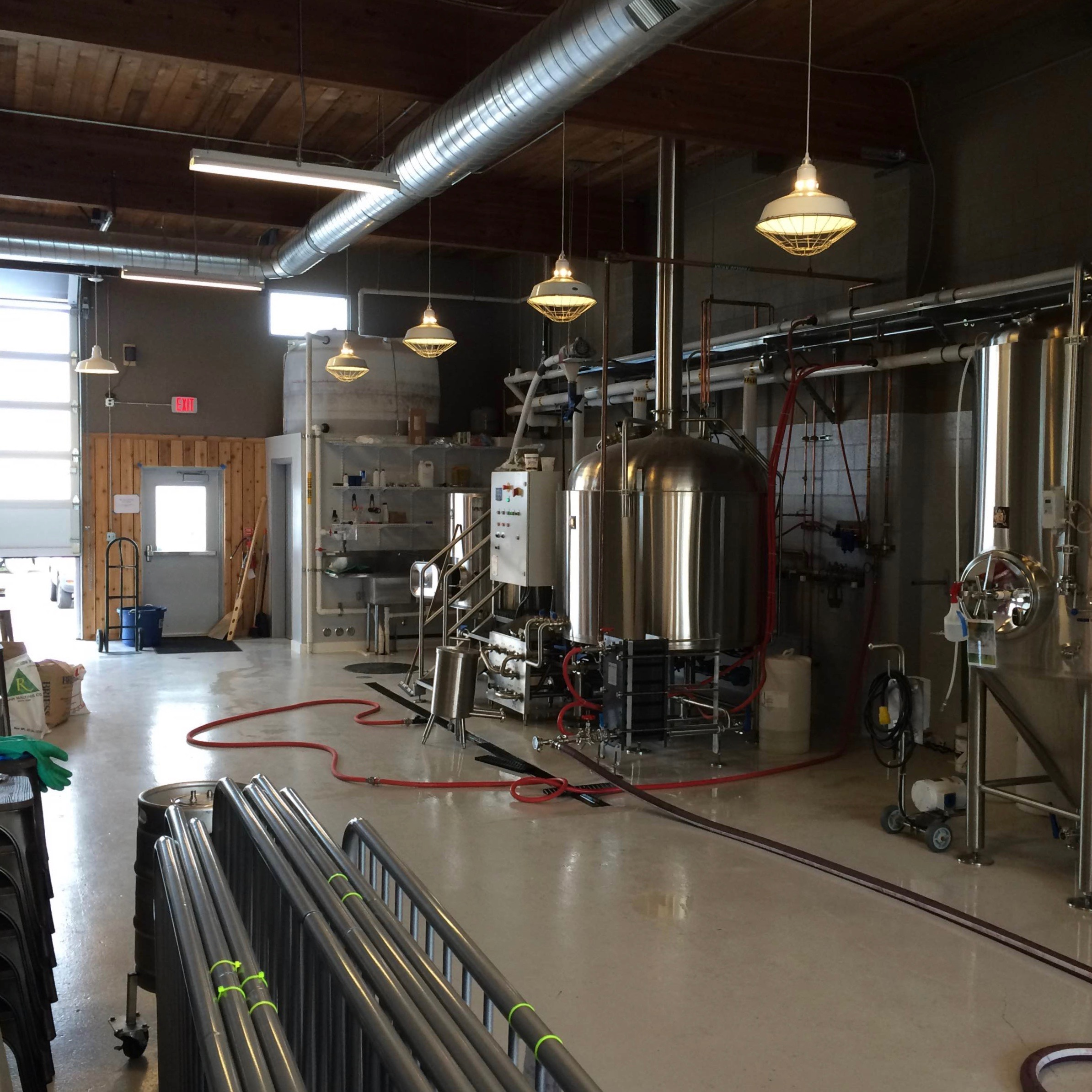 Brewhouse at ColdFire Brewing (photo by Matt Van Wyk)