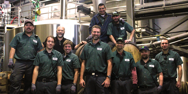 Full Sail Brewing Barrel Crew 2016 (image courtesy of Full Sail Brewing)