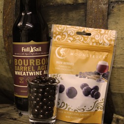 Full Sail Wheatwine and Moonstruck Beer Berries (image courtesy of Full Sail Brewing)