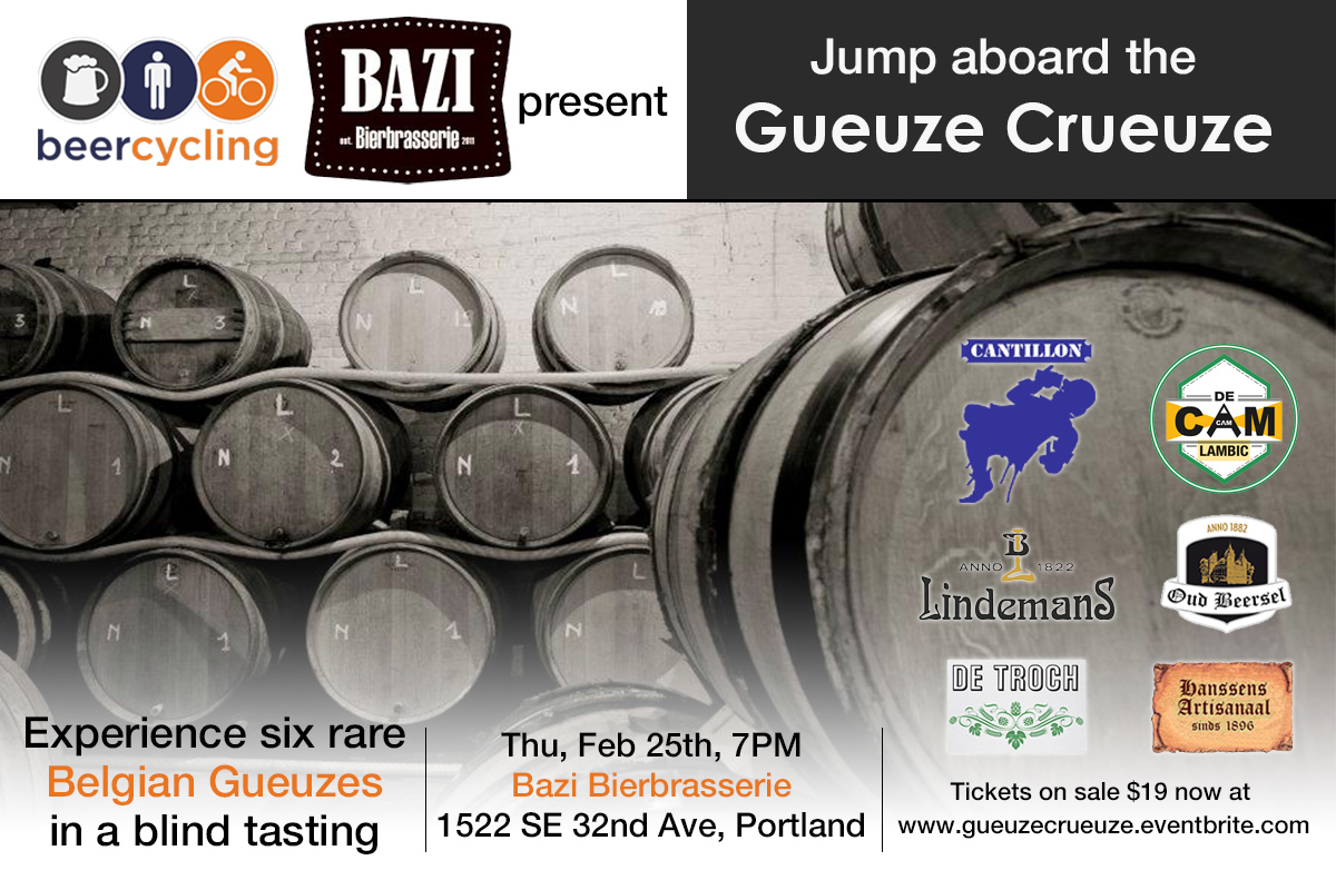 Gueuze Crueuze at Bazi