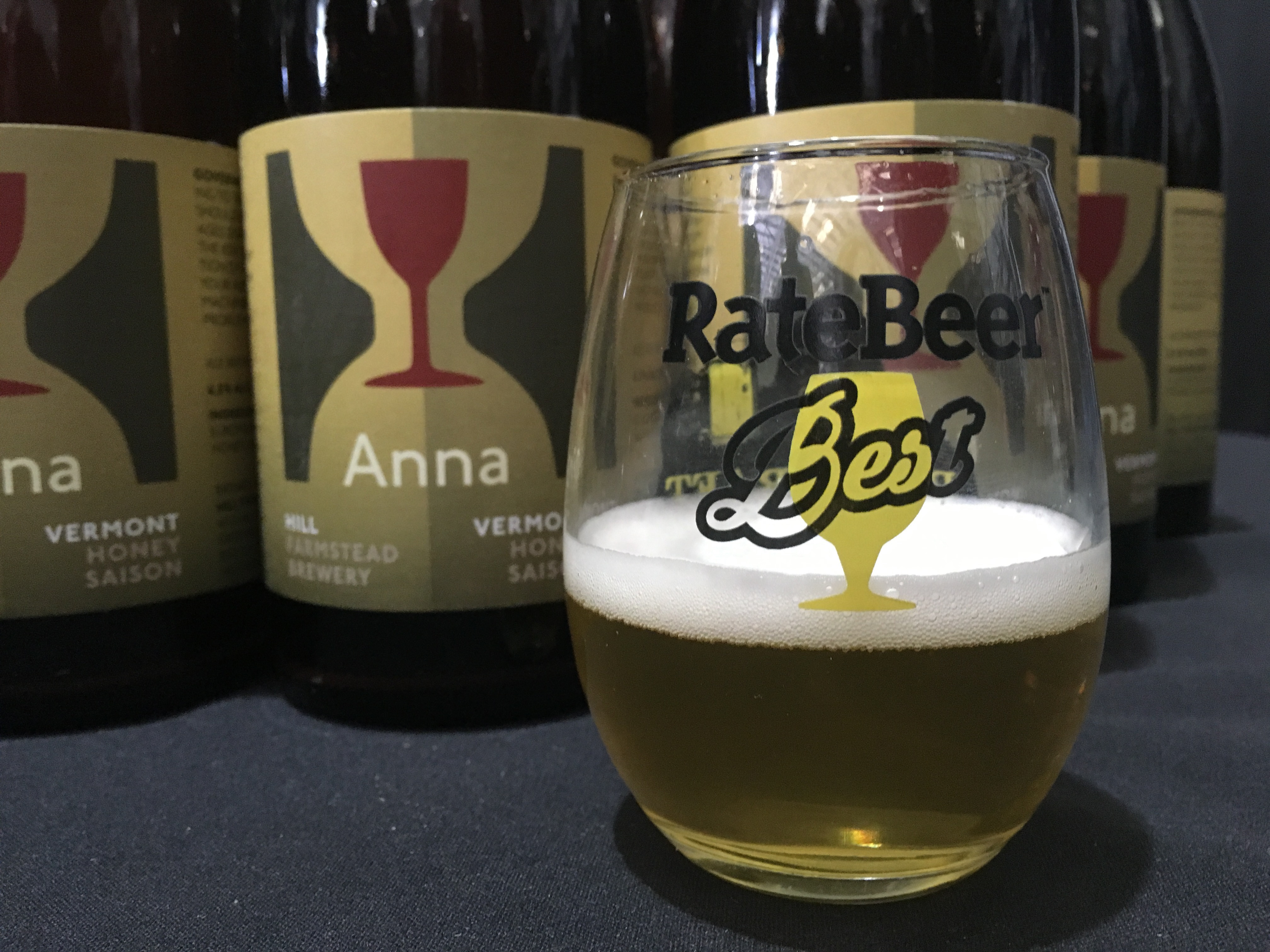 Hill Farmstead Anna at 2016 RateBeer Best Festival.