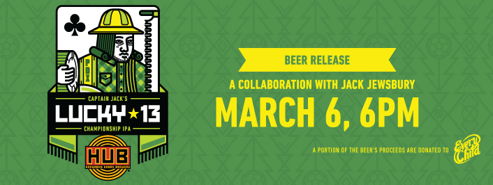 Hopworks Urban Brewery Release Party: Captain Jack's Lucky 13 Championship IPA