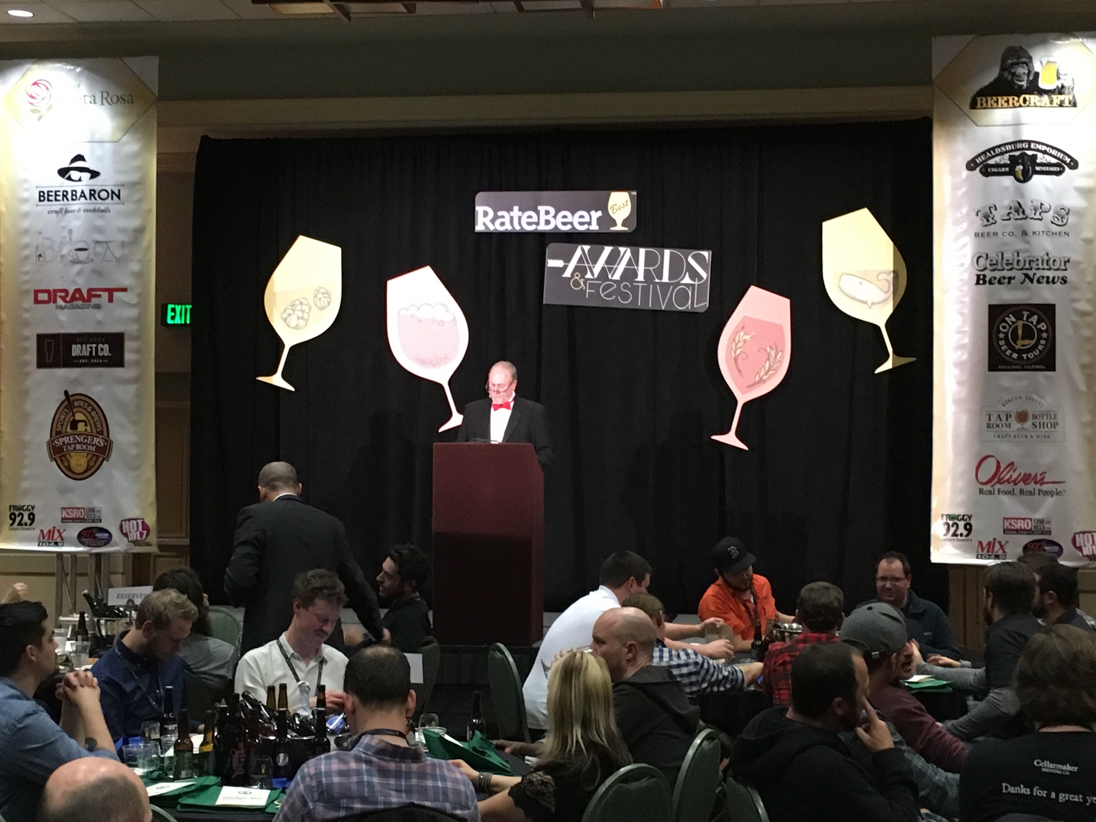 Jay Brooks at 2016 RateBeer Best Awards.