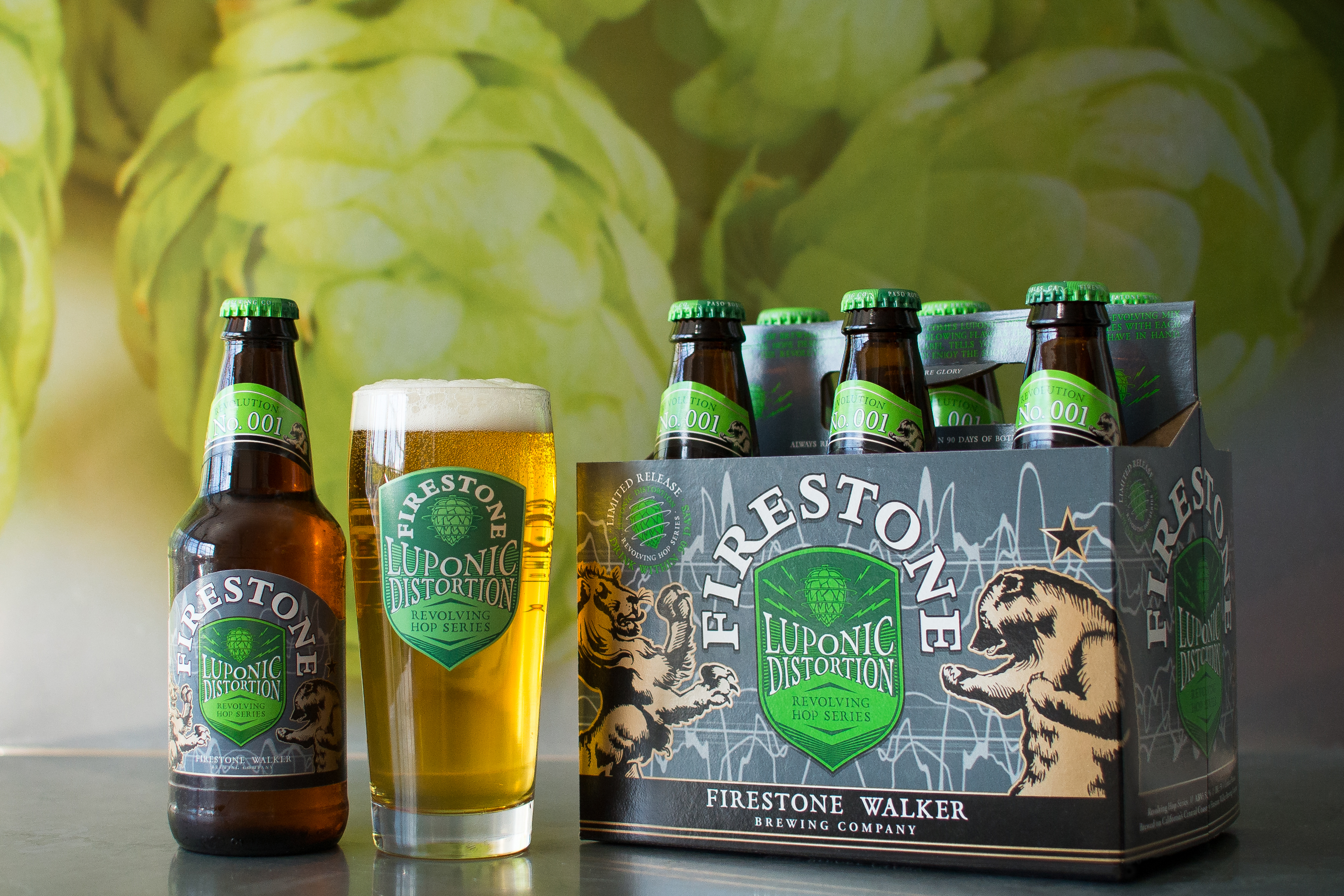 Luponic Distortion No.001 6 Pack (image courtesy of Firestone Walker)