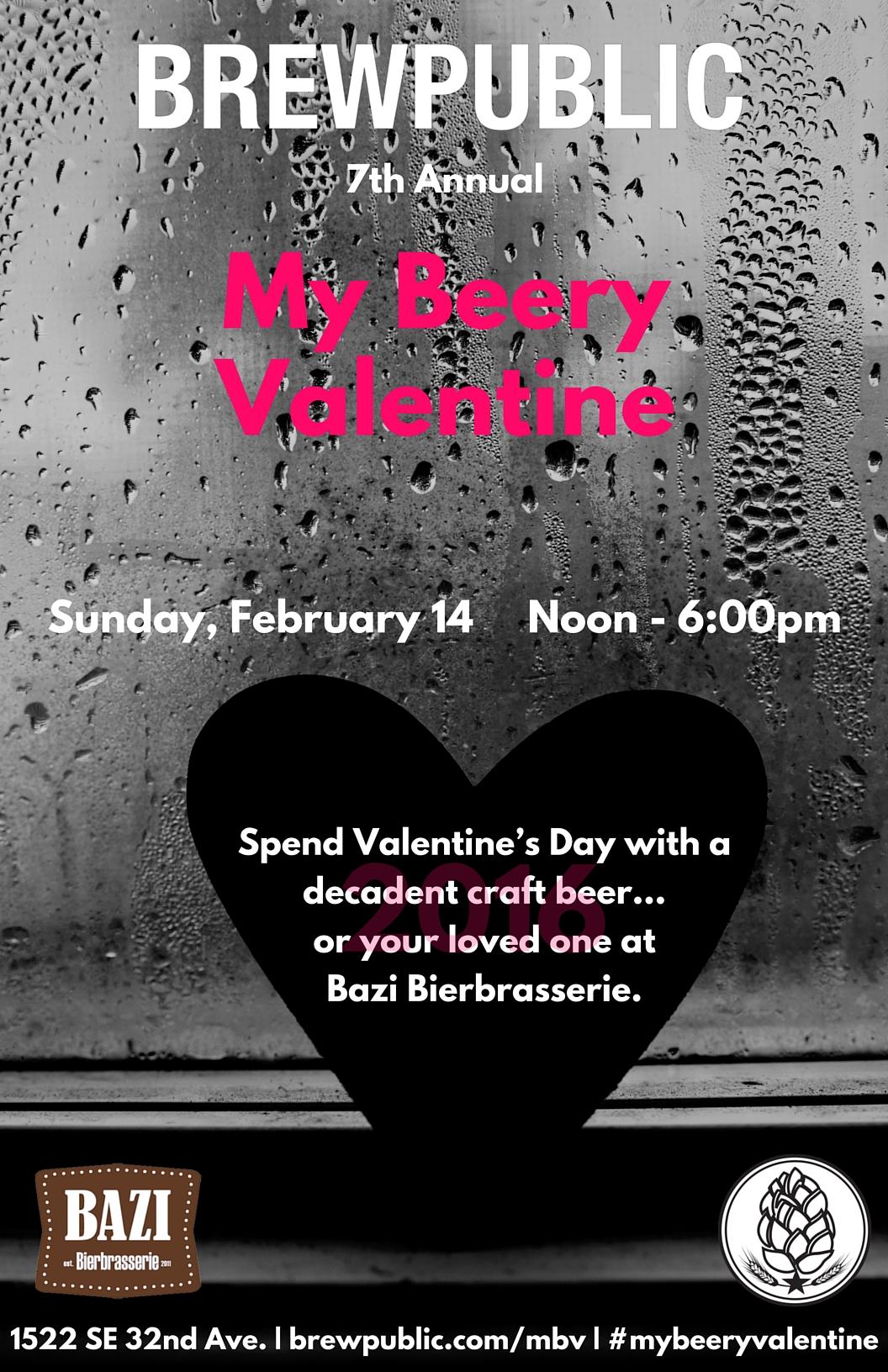 My Beery Valentine Poster