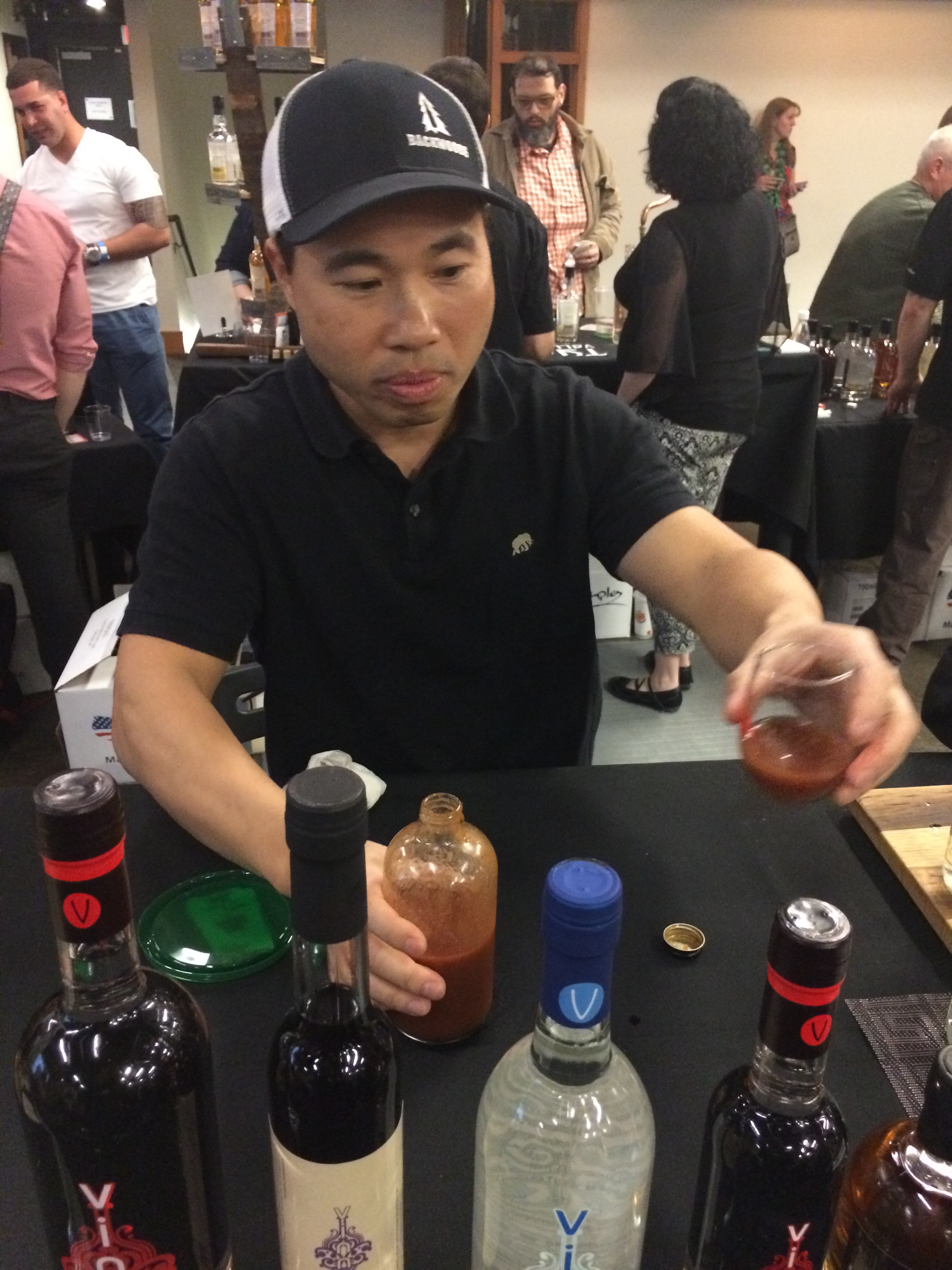 Quyen Ly of Vinn Distillery at 5th Annual TOAST at Left Bank Annex